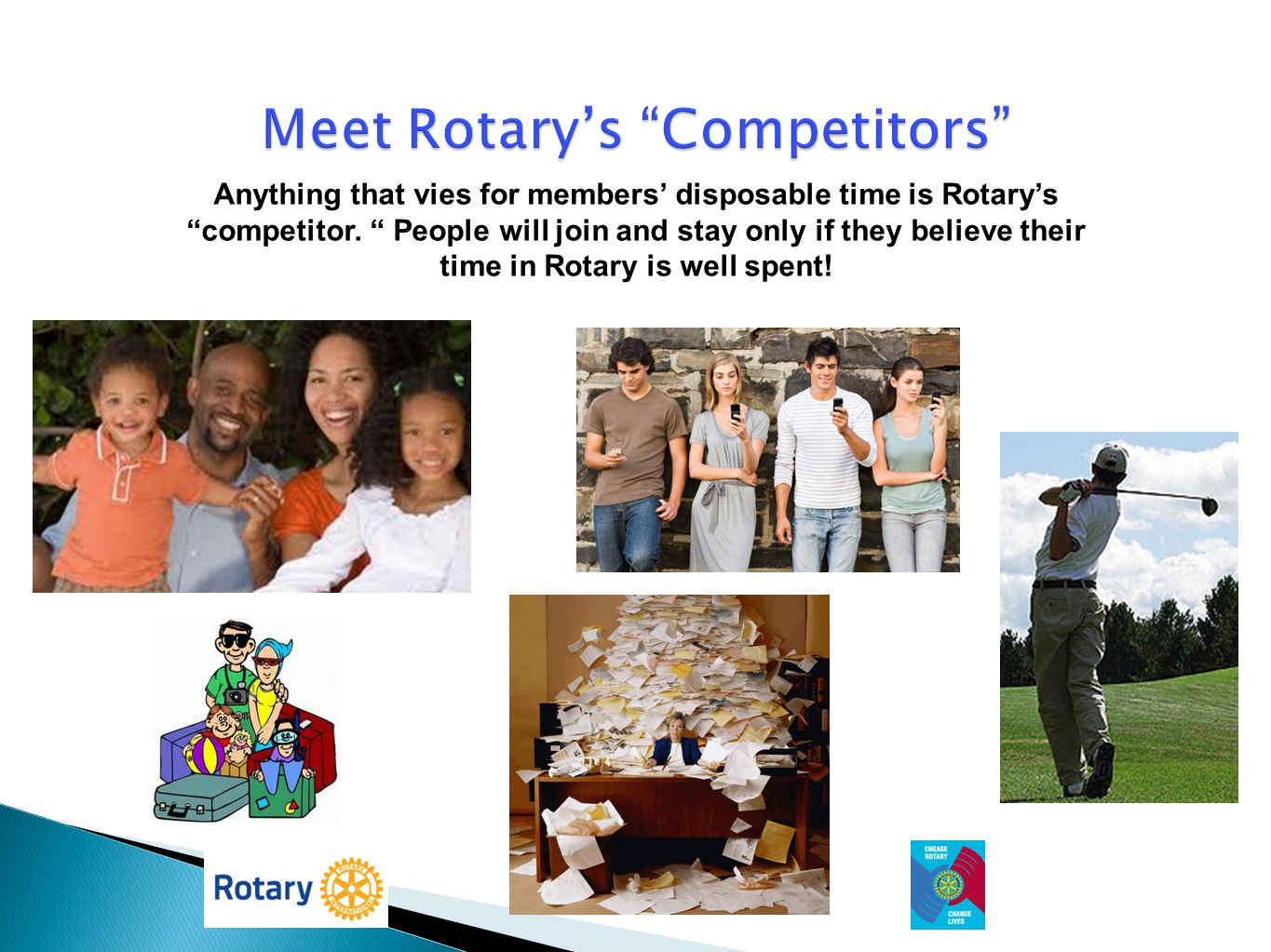 Meet Rotary's Competitors