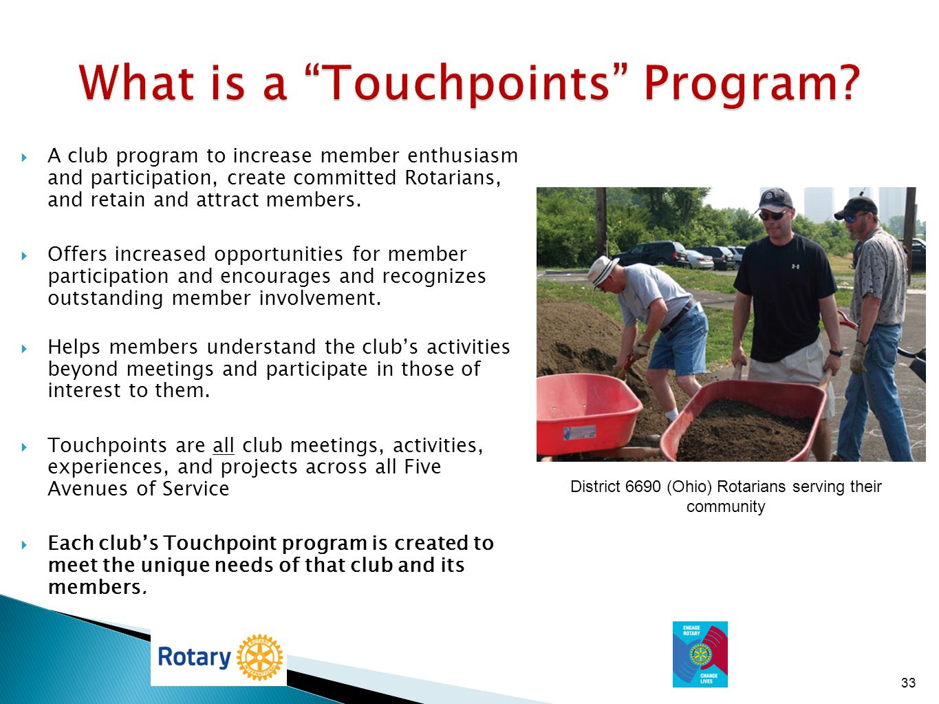 What is a Touchpoints Program
