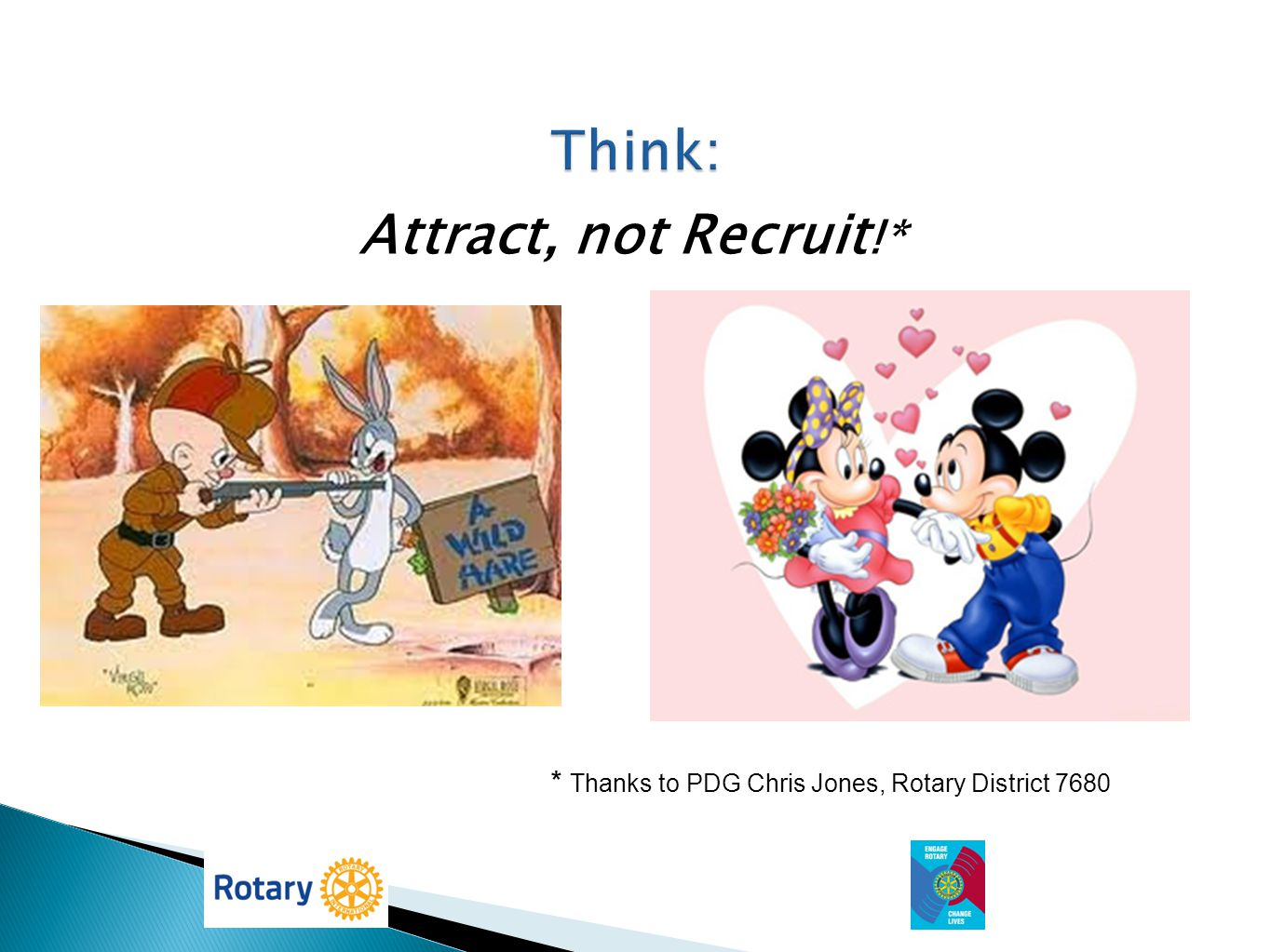 Think: Attract, not Recruit!*