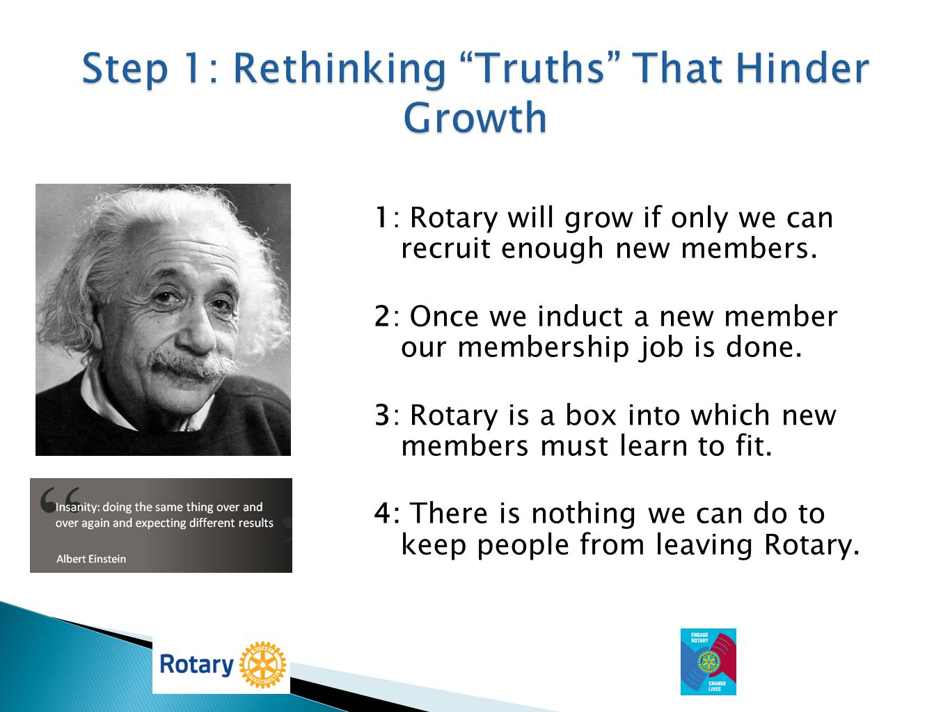 Step 1: Rethinking Truths That Hinder Growth