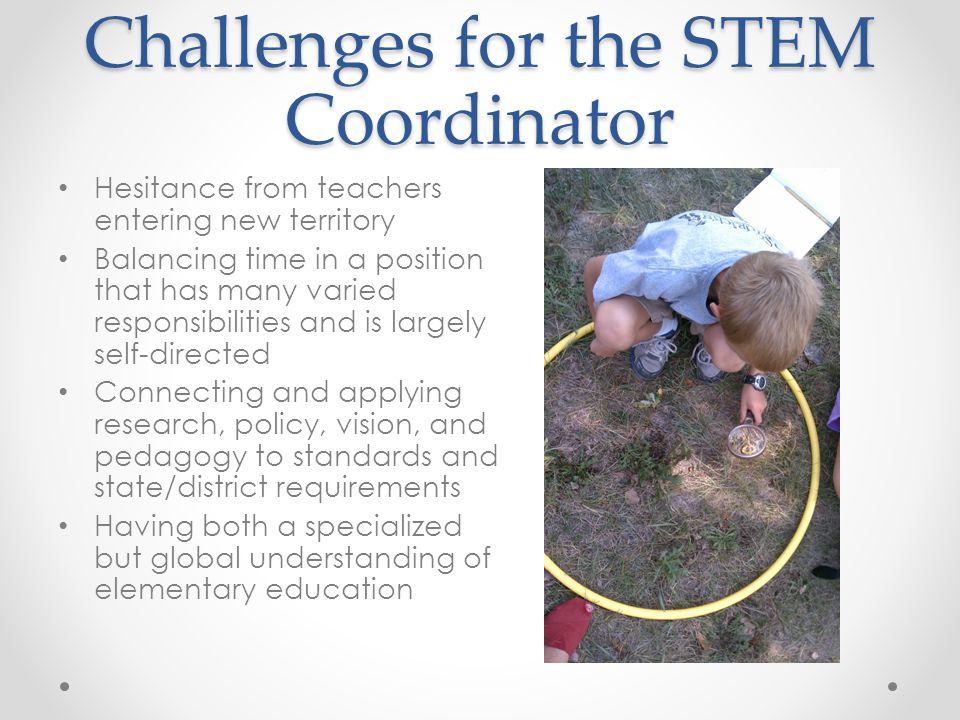 Challenges for the STEM Coordinator