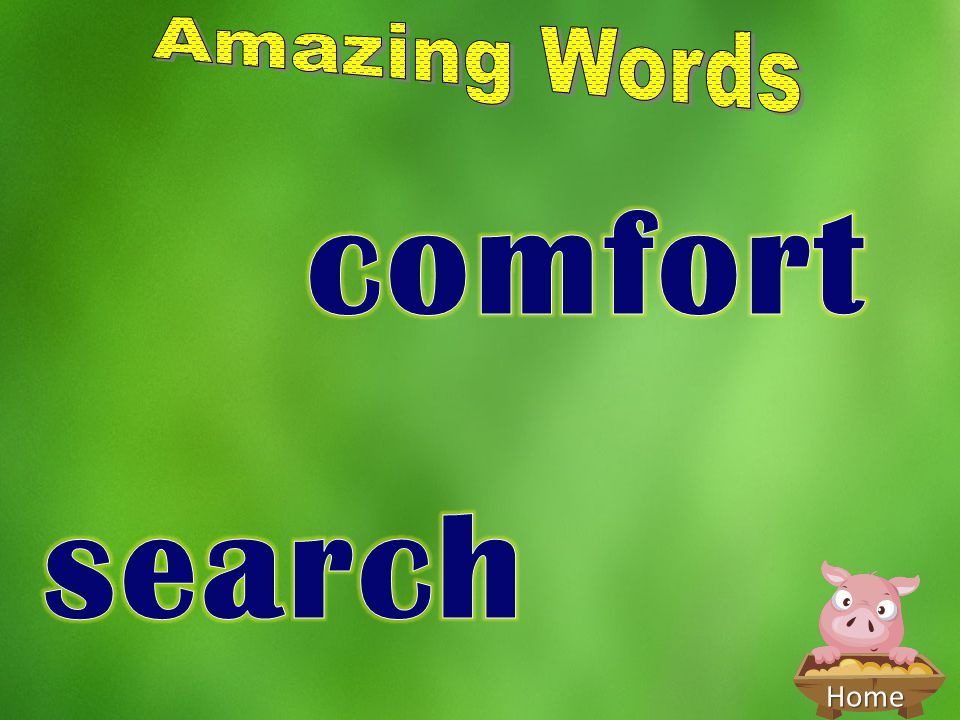 Amazing Words comfort search