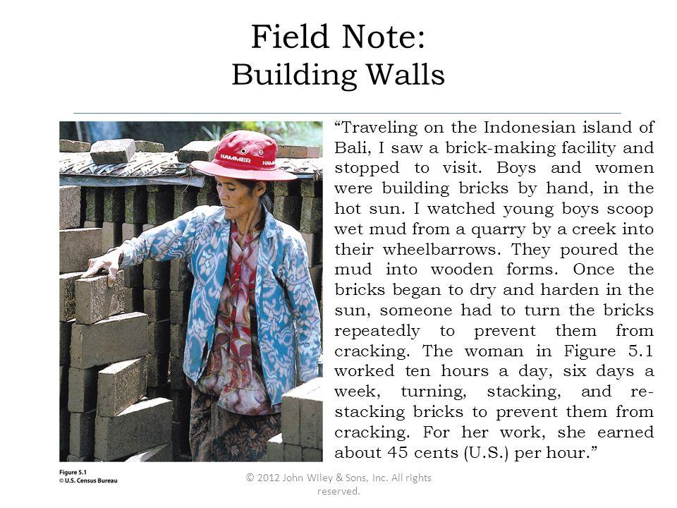 Field Note: Building Walls