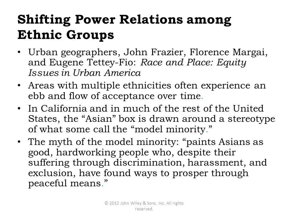 Shifting Power Relations among Ethnic Groups