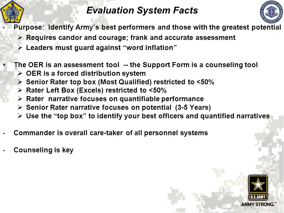 Evaluation System Facts