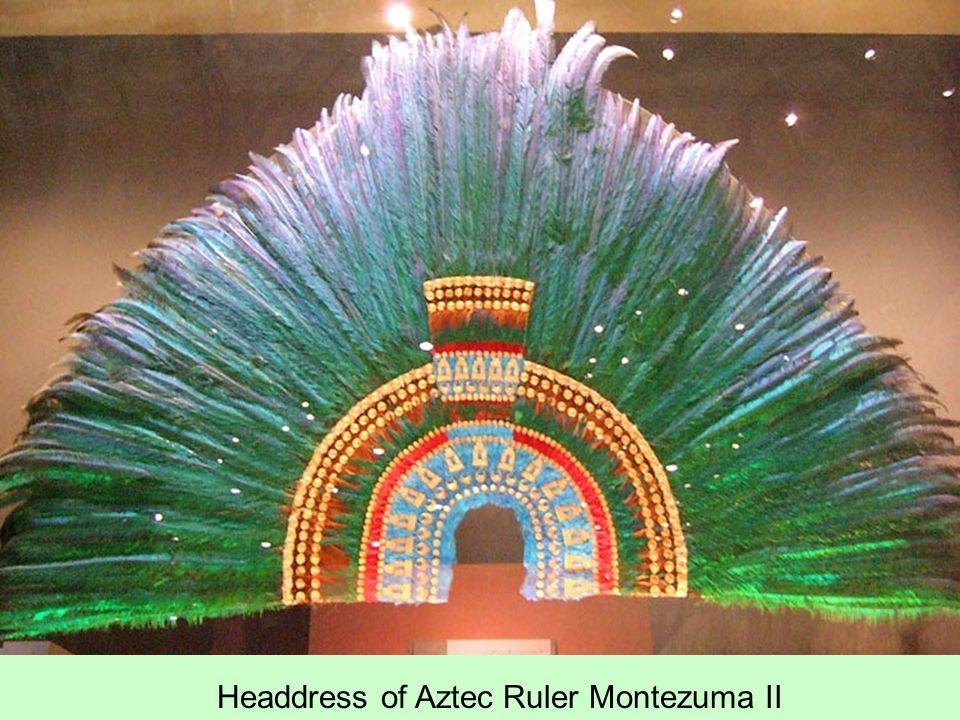 Headdress of Aztec Ruler Montezuma II