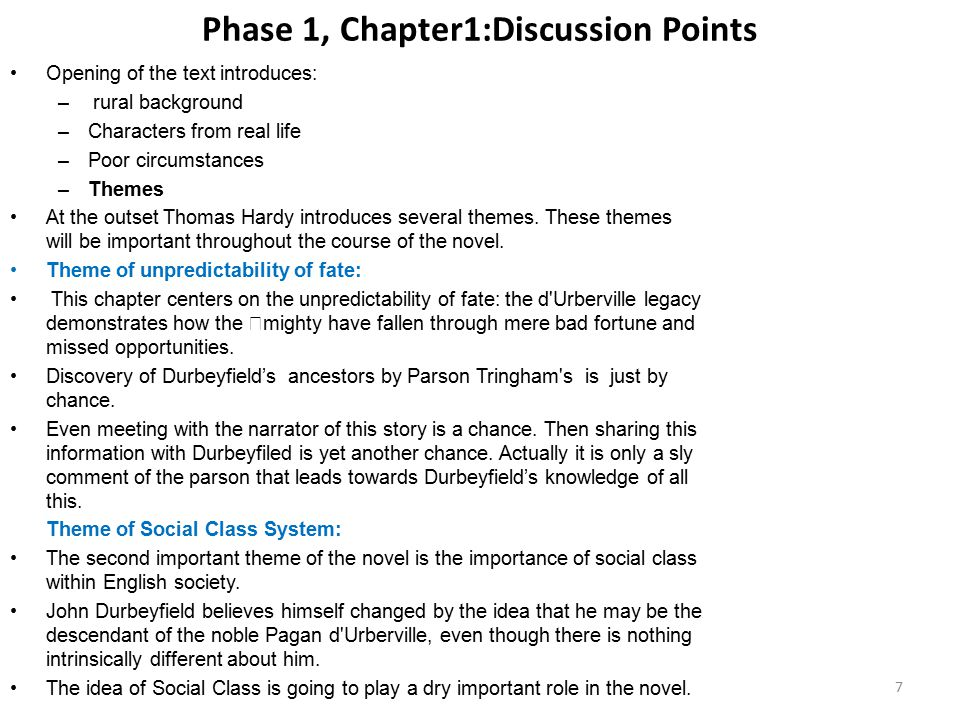 Phase 1, Chapter1:Discussion Points
