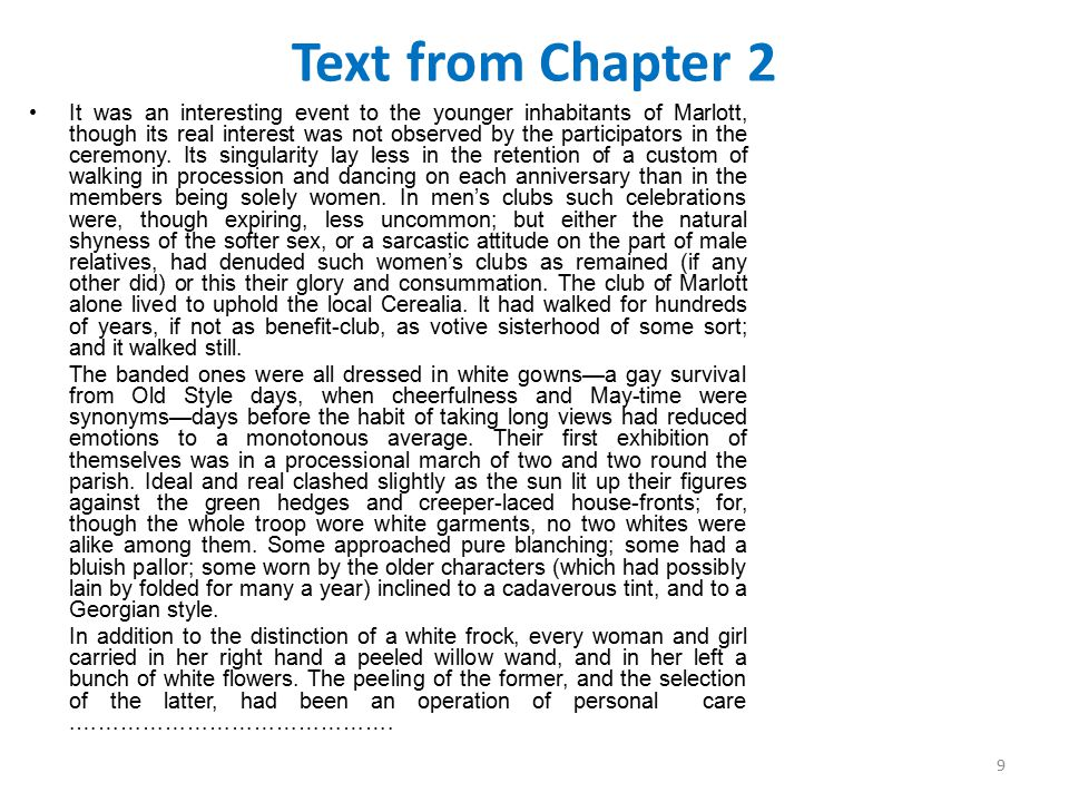 Text from Chapter 2