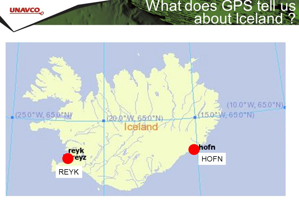 What does GPS tell us about Iceland