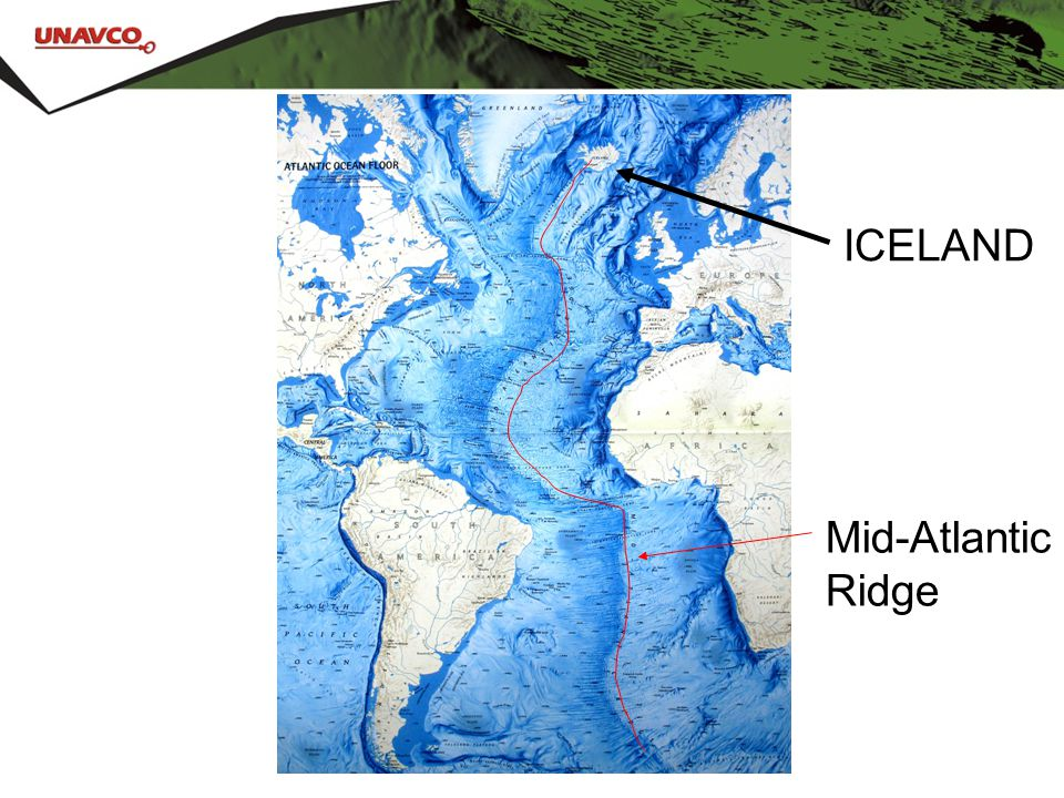 ICELAND Mid-Atlantic Ridge