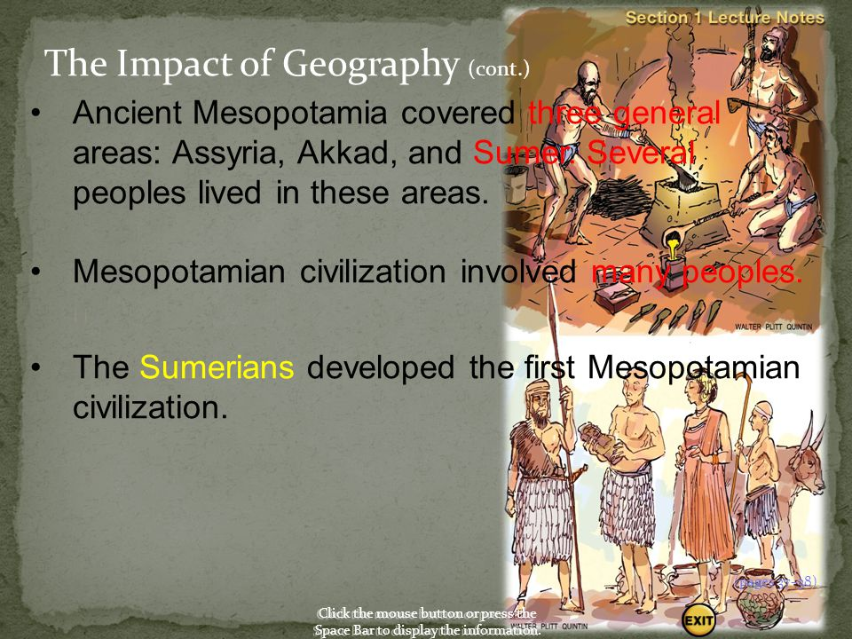 The Impact of Geography (cont.)