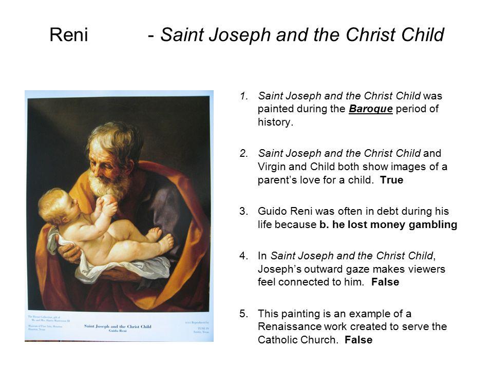 Reni - Saint Joseph and the Christ Child