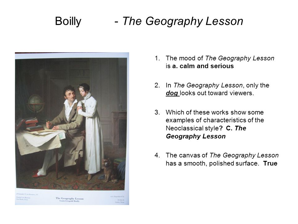 Boilly - The Geography Lesson