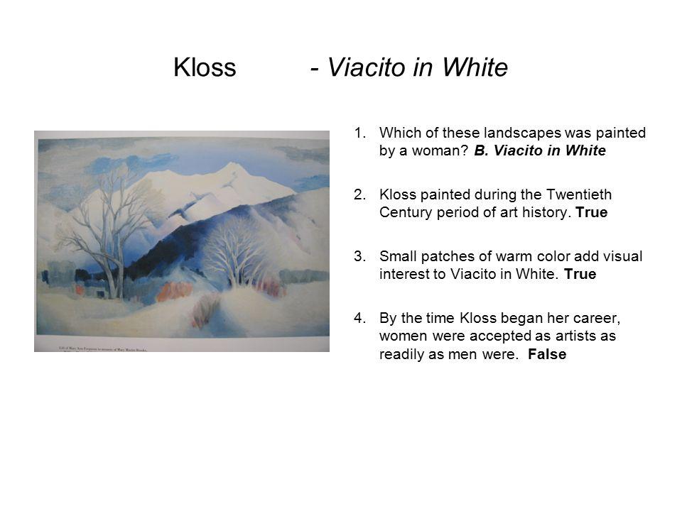 Kloss - Viacito in White