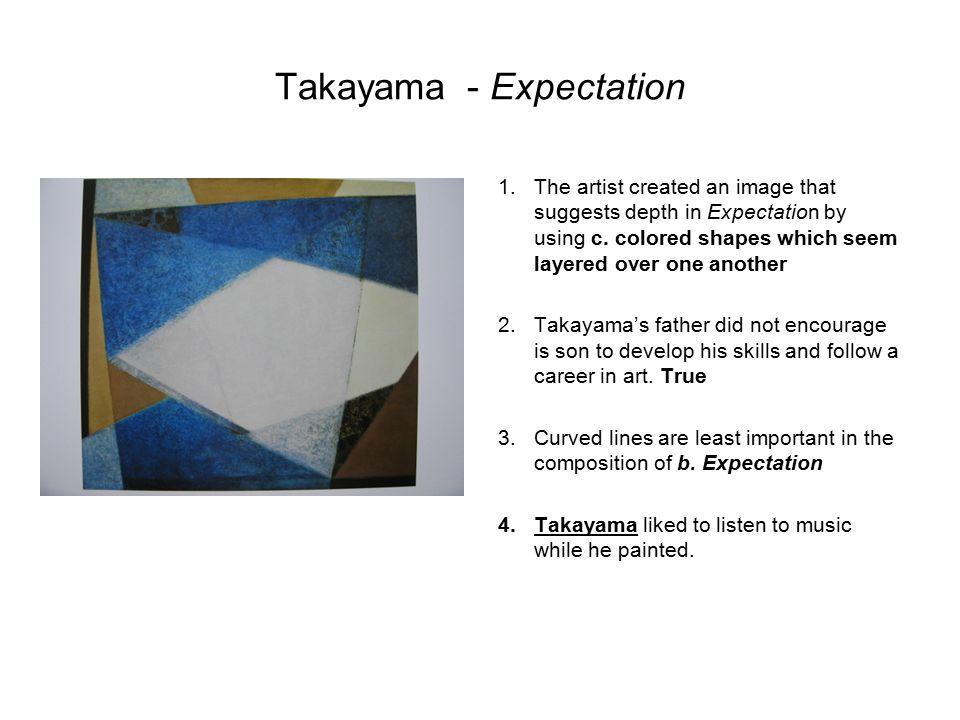 Takayama - Expectation