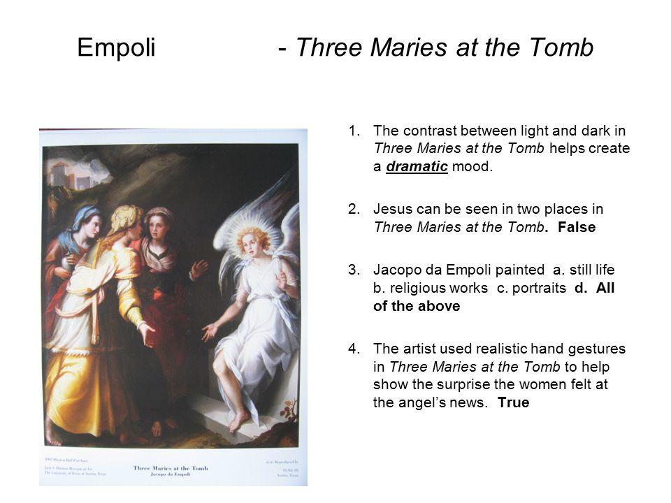 Empoli - Three Maries at the Tomb