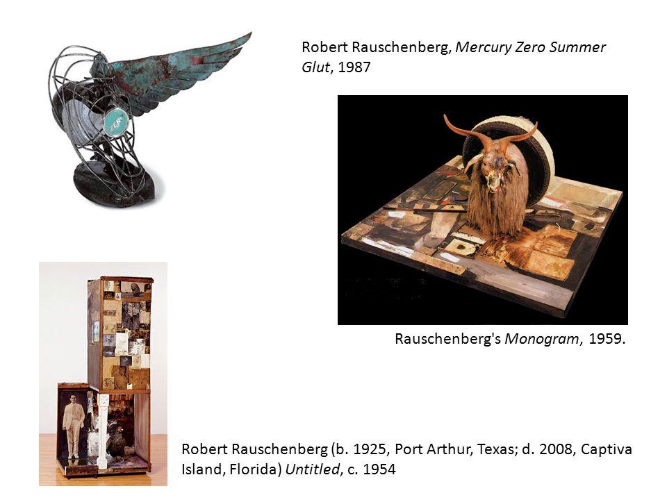 Robert Rauschenberg, Mercury Zero Summer Glut, 1987