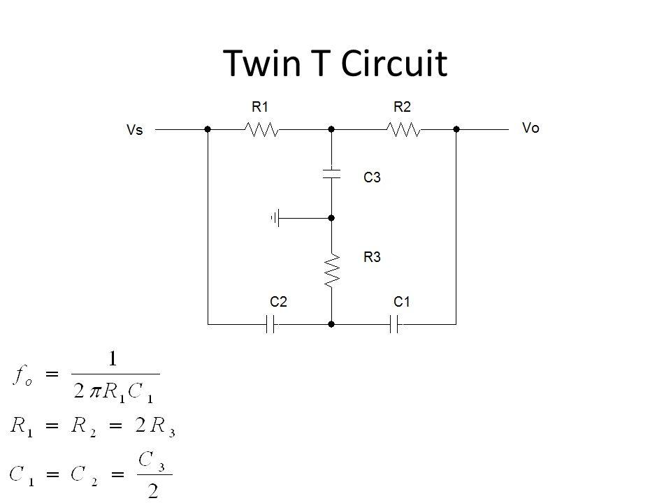 Twin T Circuit