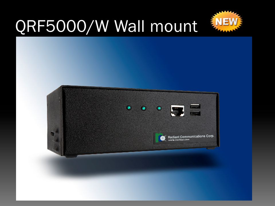 QRF5000/W Wall mount