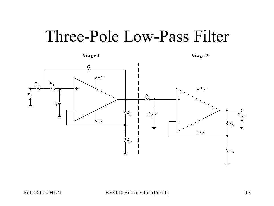 Three-Pole Low-Pass Filter