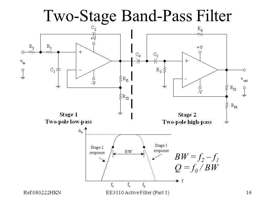 Two-Stage Band-Pass Filter