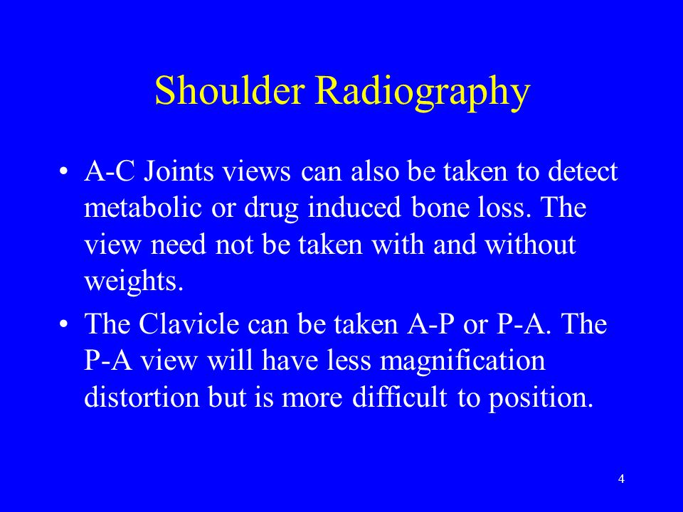 Shoulder Radiography