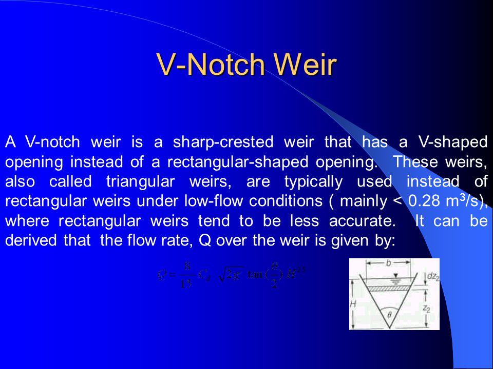 V-Notch Weir