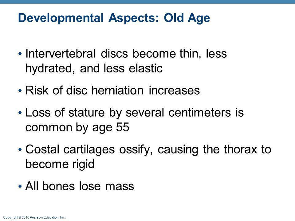 Developmental Aspects: Old Age