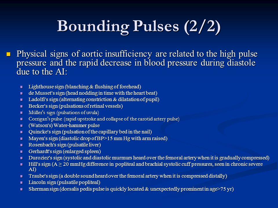 Bounding Pulses (2/2)