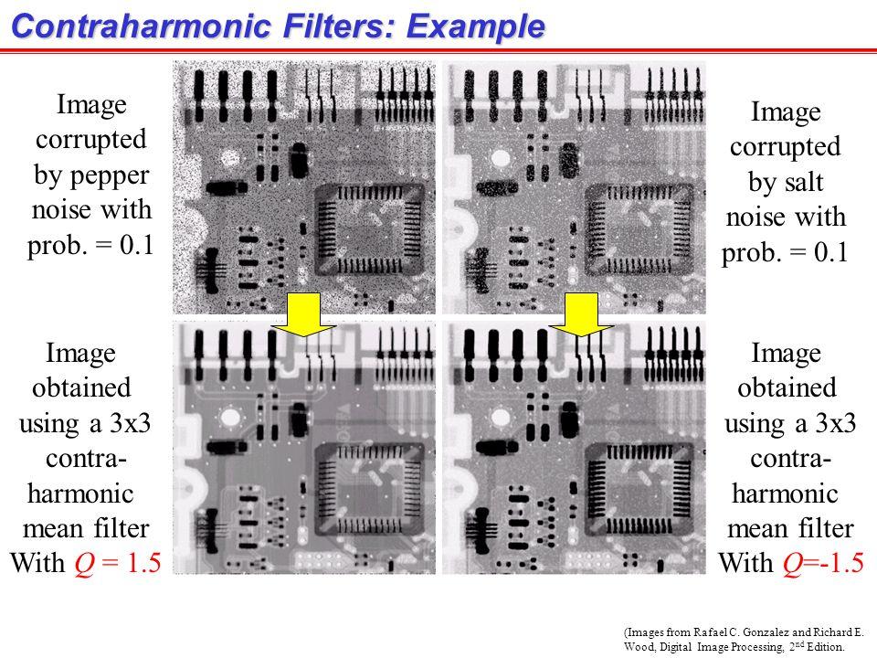Contraharmonic Filters: Example
