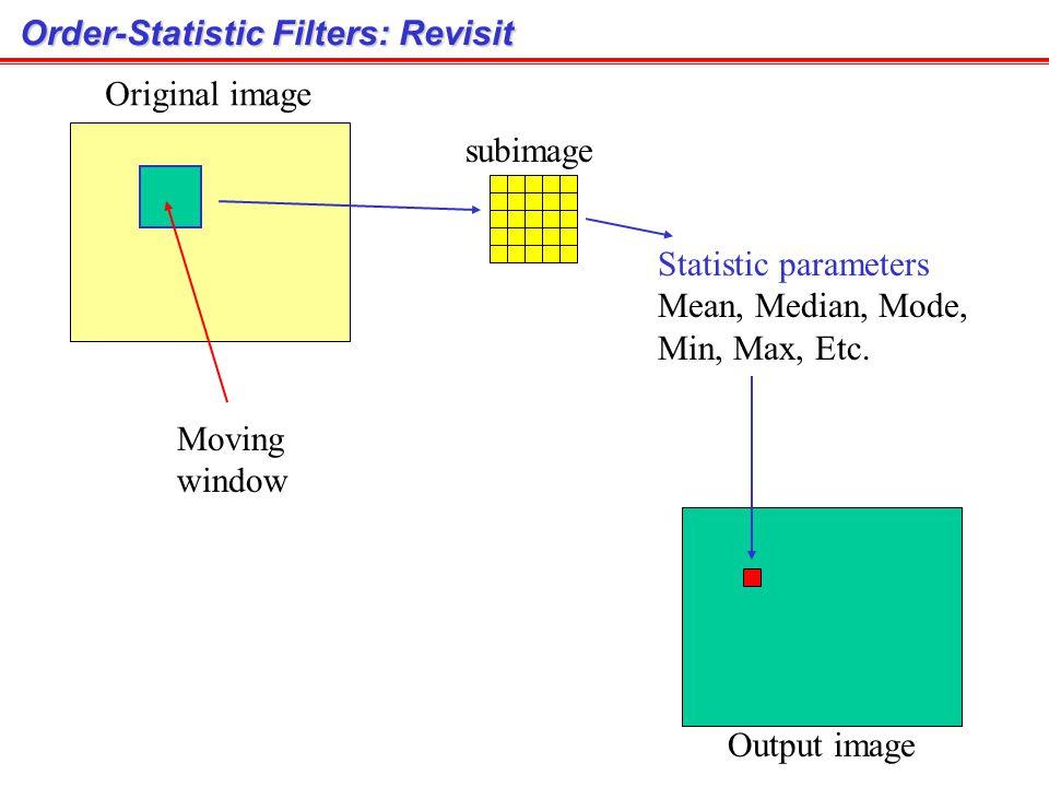 Order-Statistic Filters: Revisit