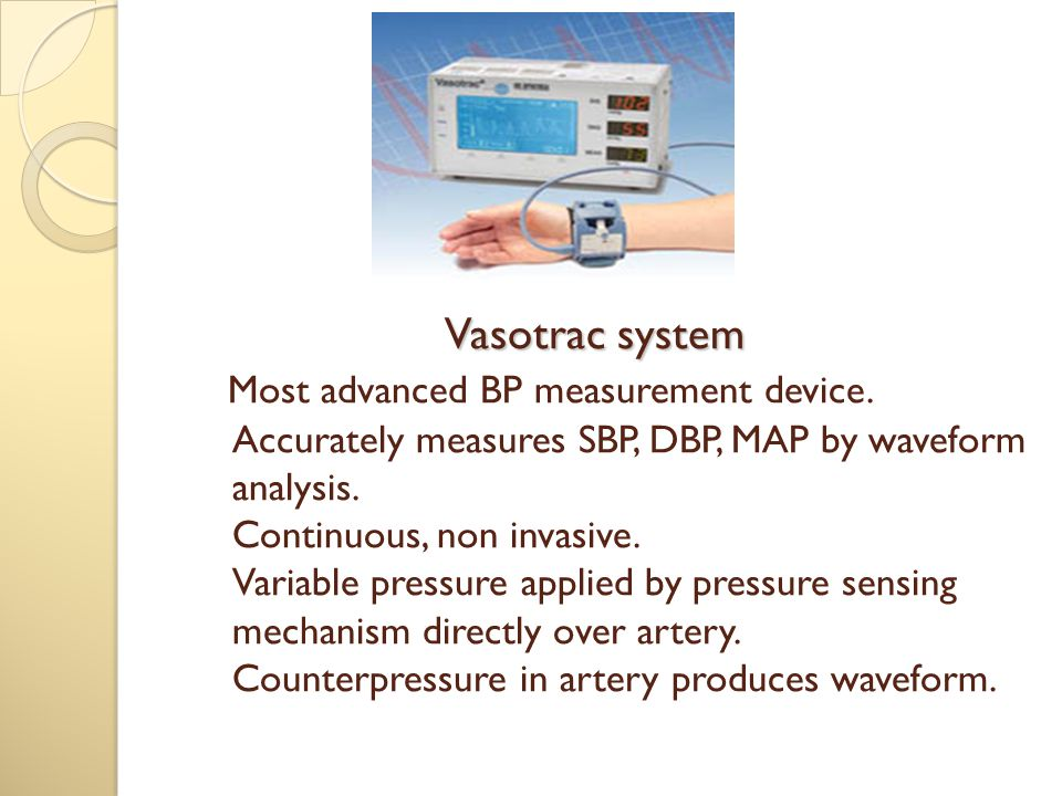 Vasotrac system Most advanced BP measurement device