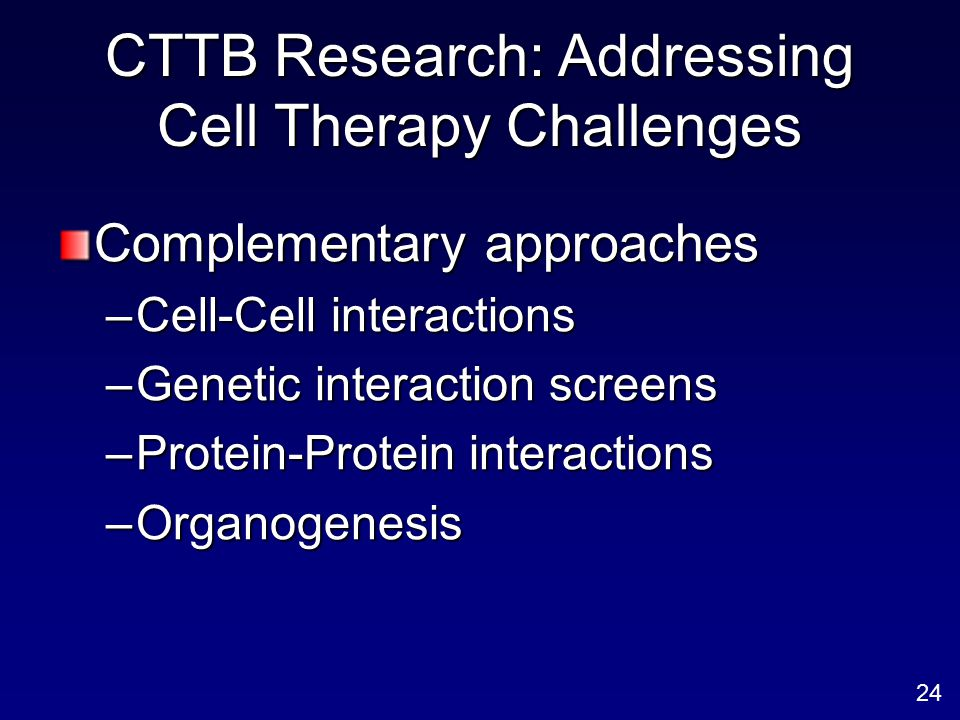 CTTB Research: Addressing Cell Therapy Challenges