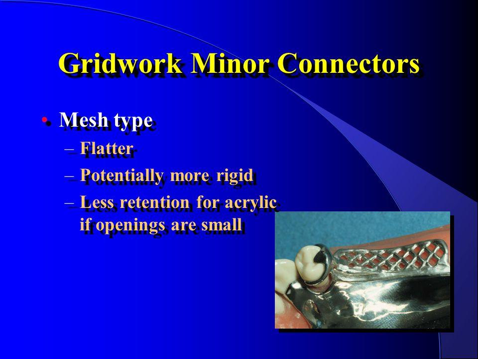 Gridwork Minor Connectors