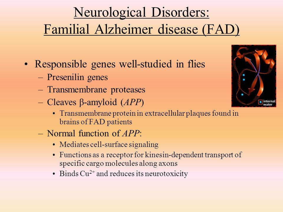 Neurological Disorders: Familial Alzheimer disease (FAD)
