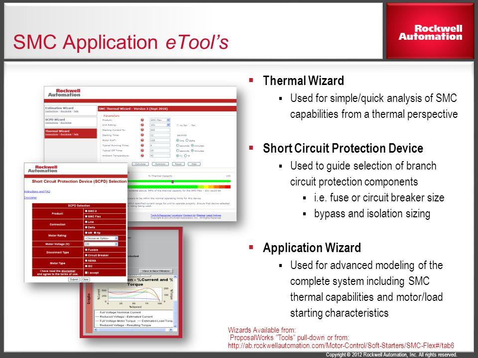 SMC Application eTool's