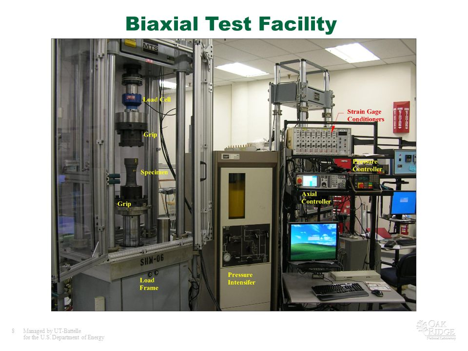 Biaxial Test Facility