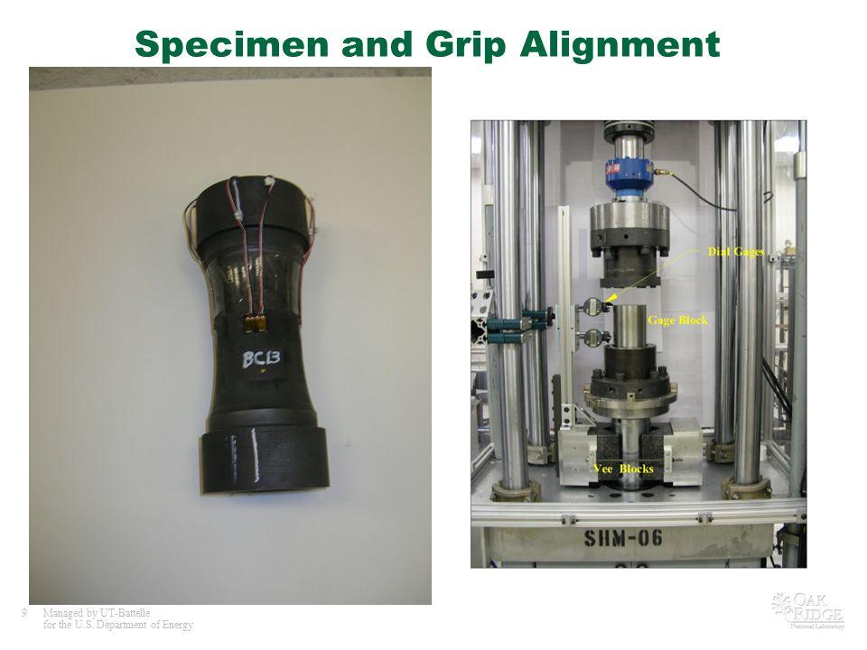 Specimen and Grip Alignment