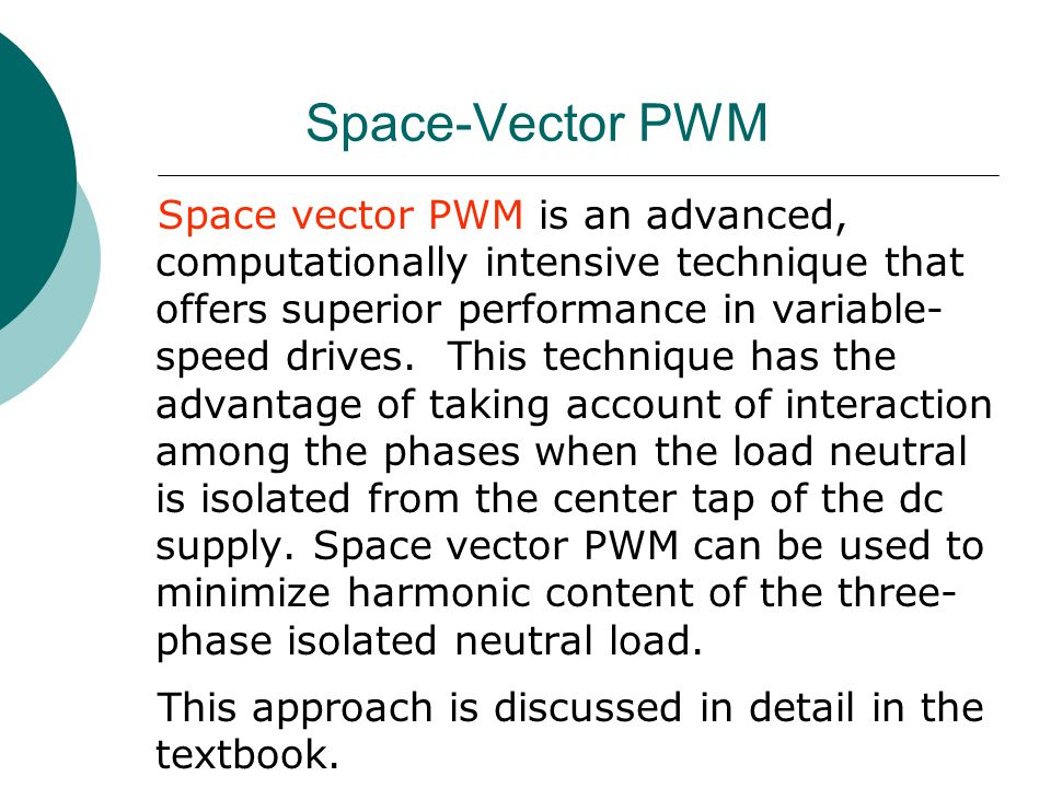 Space-Vector PWM