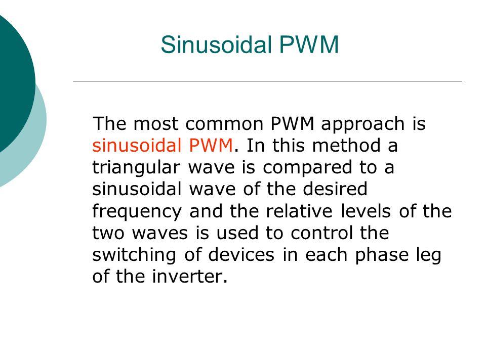 Sinusoidal PWM
