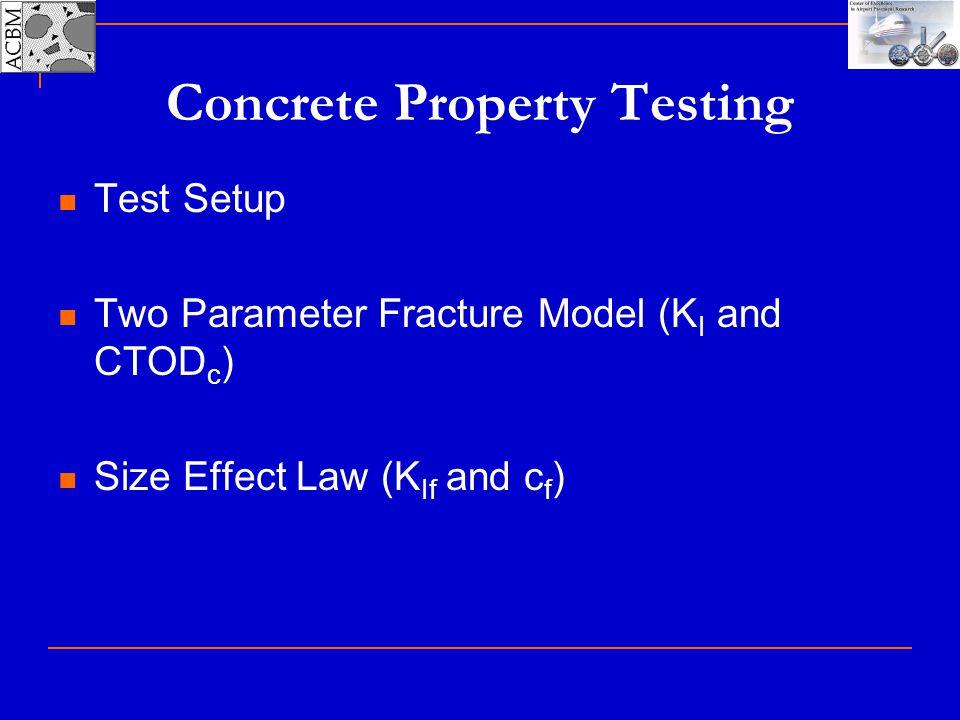 Concrete Property Testing
