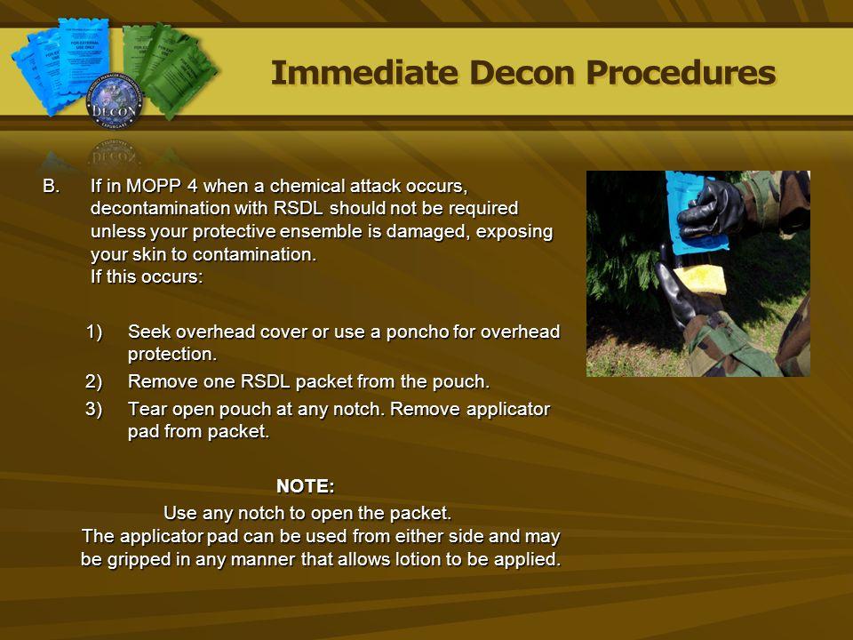 Immediate Decon Procedures