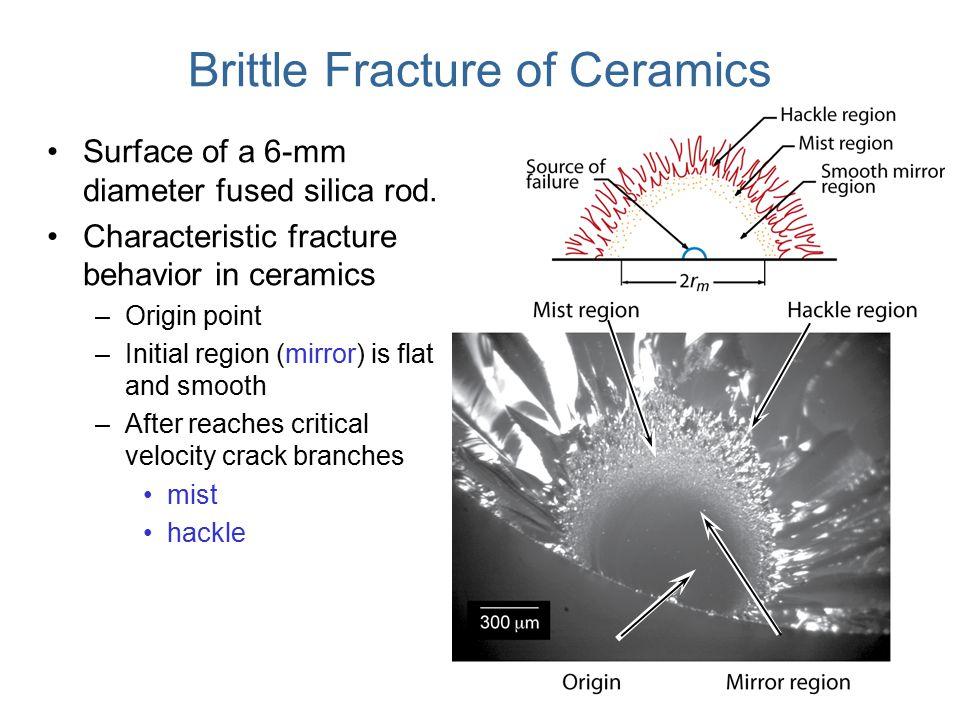 Brittle Fracture of Ceramics