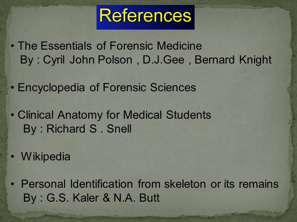 The Essentials of Forensic Medicine