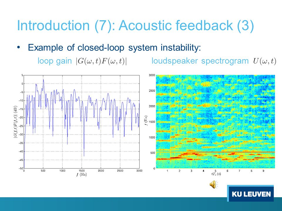 Introduction (7): Acoustic feedback (3)