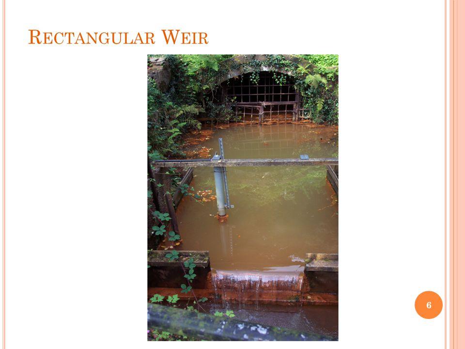 Rectangular Weir