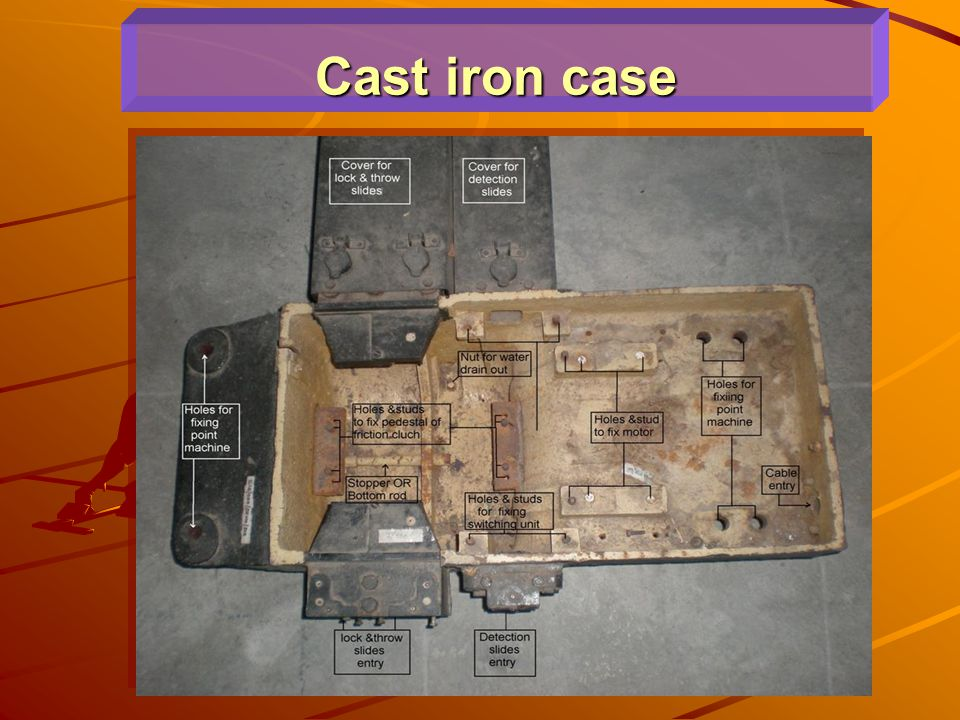 Cast iron case
