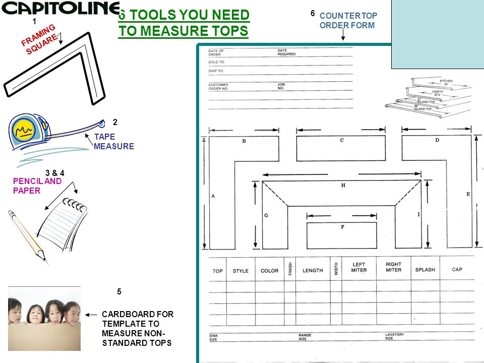 6 TOOLS YOU NEED TO MEASURE TOPS - ppt video online download