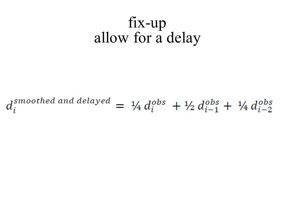 fix-up allow for a delay