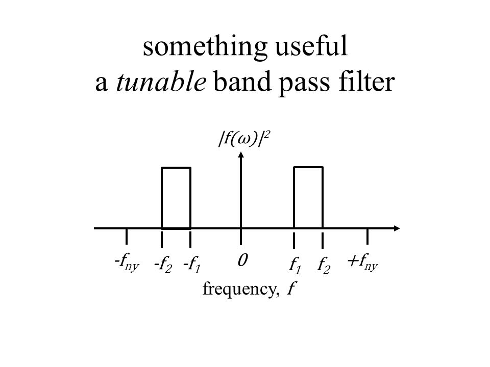 something useful a tunable band pass filter